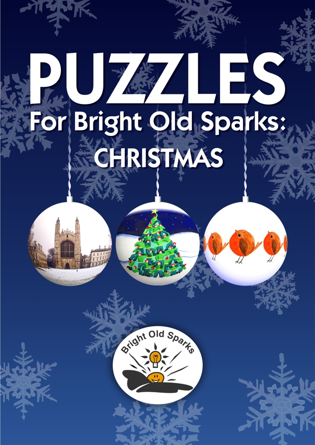 Cover for Puzzles for Bright Old Sparks: Christmas