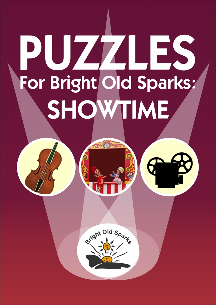 Cover for Puzzles for Bright Old Sparks: Showtime